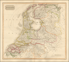 Netherlands Map By John Pinkerton