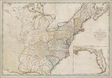 United States Map By Mathew Carey