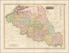 Netherlands Map By John Thomson