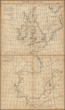 Europe, Europe, British Isles, France and Spain Map By John Senex / Edmund Halley / Nathaniel Cutler