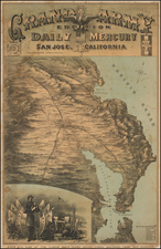 California Map By Britton & Rey