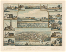 Chicago In Early Days.  1779-1857 By Kurz & Allison
