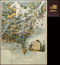 United States Map By Edward Wallis