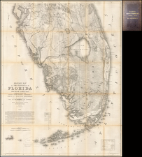 Florida Map By Joseph C. Ives