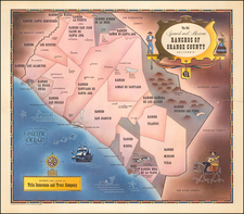 California Map By Title Insurance & Trust Company / Lowell Butler