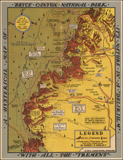 Southwest Map By Lindgren Brothers