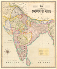 India Map By Jean-Baptiste Tassin