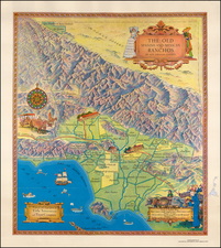 California Map By Title Insurance & Trust Company