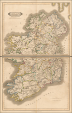 Ireland Map By Daniel Lizars
