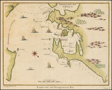 India and Other Islands Map By Francois Valentijn