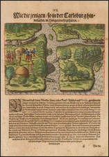 Florida Map By Theodor De Bry