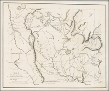 Midwest, Minnesota and Plains Map By Henry Schoolcraft