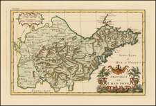 China Map By Jean-Baptiste Bourguignon d'Anville