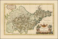 China Map By Jean-Baptiste Bourguignon d'Anville