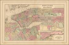 Mid-Atlantic Map By Samuel Augustus Mitchell Jr.