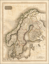 Scandinavia Map By John Pinkerton