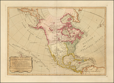 United States and North America Map By Samuel Dunn