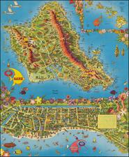 Hawaii and Hawaii Map By Don Bloodgood