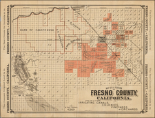 California Map By Martin Theodore Kearney