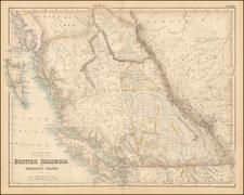 Canada Map By Archibald Fullarton & Co.