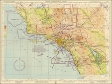 California Map By U.S. Coast & Geodetic Survey