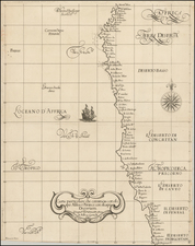 South Africa and West Africa Map By Robert Dudley