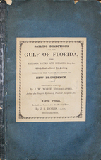 Florida and Caribbean Map By J. S. Hobbs