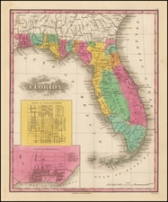 Florida Map By Anthony Finley