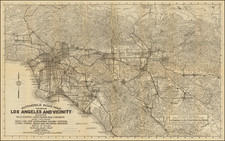California Map By Automobile Club of Southern California