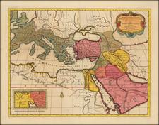 Europe, Europe, Turkey, Mediterranean, Middle East and Turkey & Asia Minor Map By Tipografia del Seminario