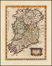 Ireland Map By Philip Briet