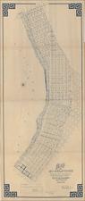 San Diego Map By John E. Jackson