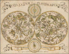Celestial Maps Map By Louis Vlasbloem
