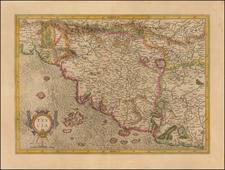 Tuscia (Tuscany) By  Gerard Mercator