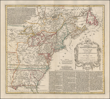United States Map By Homann Heirs