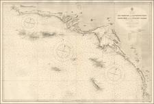 California Map By U.S. Coast & Geodetic Survey