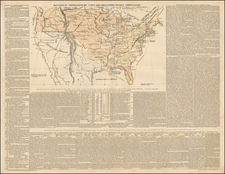 United States, South America and America Map By Emmanuel-Augustin-Dieudonné-Joseph comte de Las Cases
