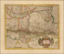 Romandiola Cum Ducatus Parmensi By Gerhard Mercator