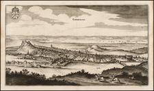 Scotland Map By Matthaus Merian