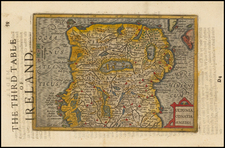 Ireland Map By Jodocus Hondius - Michael Mercator
