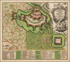 Curiosities Map By Matthaus Seutter