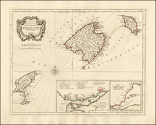 Spain and Balearic Islands Map By Paolo Santini