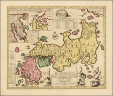 Japan Map By Engelbert Kaempfer