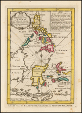 Southeast Asia, Philippines and Indonesia Map By J.V. Schley