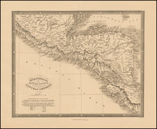 Central America Map By James Wyld