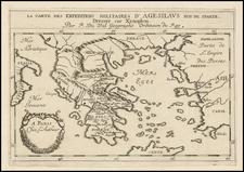 Greece Map By Pierre Du Val