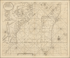 East Africa and African Islands, including Madagascar Map By Samuel Thornton