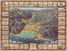 California Map By L.C.B. Co.
