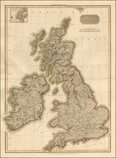 British Isles Map By John Pinkerton