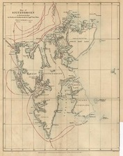 World, Polar Maps, Europe and Russia Map By Royal Geographical Society